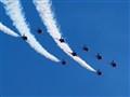 Red Arrows At RAF Akrotiri