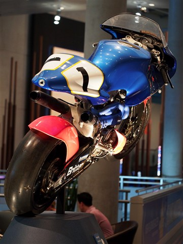 Britten Motorcycle - Te Papa Museum of NZ