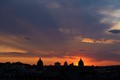 Sunset behind the Basilica