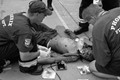 Man Collapses From Heat Exhaustion