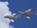 Mikoyan-Gurevich Mig-15 and North American F-86F Sabre 'Jolley Roger'