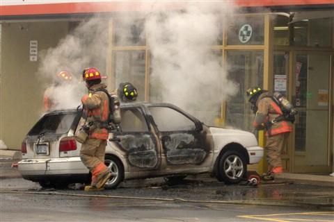 Car Fire 1462