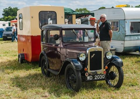 Retro-Fair---Austin-7-&-Caravan-(1-of-1)