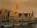 Magic light on Gent