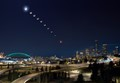 Total Lunar Eclipse over Seattle