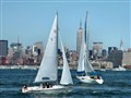 Sailing Along New York Harbor