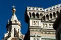 Details of the Dome lantern & the Basilica facade
