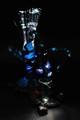 Fiber Optic Lamp & Glass Flower