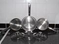 Saucepans and lids