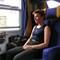 finnish woman on french train