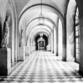 Walks the hallway
