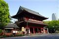 A Gate to Zo Jo Ji Buddhist Temple