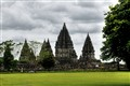 Cloud over Prambanan