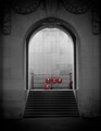 The Menin Gate in Ypres, Belgium commemorates the British and Commonwealth soldiers who were killed in the Ypres Salient and whose graves are unknown.