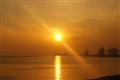 Sunset in Taranto, Italy