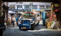 Quiapo market Jeepney