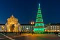 Christmas Tree - Lisbon, Portugal