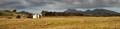 Abandoned farmhouse panorama