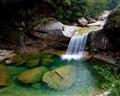 Water fall in Yellow Mountain