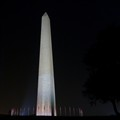 Washington Monument, eve of 9/11/11