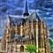 Notre Dame du Sablon, Brussels (Anime)