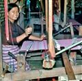 Silk Weaving In Chiang Mai Thailand
