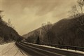 Adirondack Highway Winter