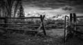 Through the Fence, The Tetons