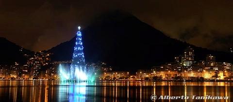 Lagoa Rodrigo de Freitas, Christmas'05