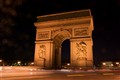 Race around the Arc de Triomphe