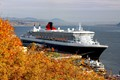 Queen Mary 2 at Quebec City