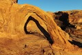 Corona Arch and Shadow from the Air