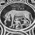 Floor Mosaic, Duomo, Siena Italy