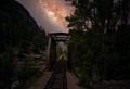 Bridge and Milk Way