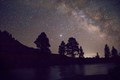 Starry night over the Arkansas River
