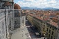 View of the Duomo, from the top of the Baptistery