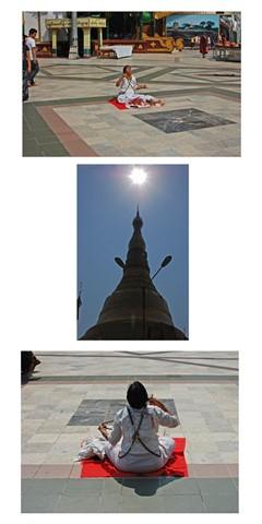 0111- - Woman Meditating Panel - Copy