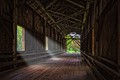 Covered Wooden Bridge