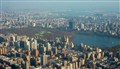 New York, Central Park, seen by a  heli-flight