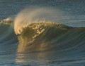 wave, in the morning light
