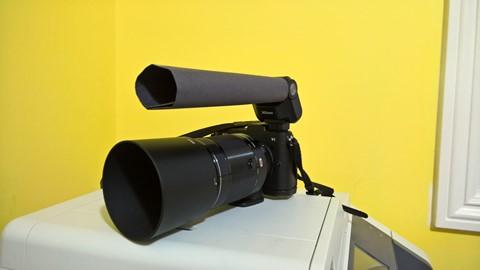 Nikon 1 V1 with SB-N7 and Snoot