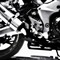 sport bike black and white 1