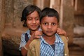 Indian children from Hampi