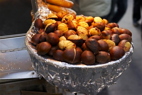 Roasted Chestnuts in NYC