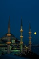 Full moon in Istanbul
