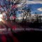 """Sunset at Fish Creek Park"""