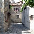 Croatia, Street in Grožnjan 1349