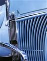 blue ford V8