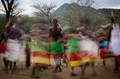 The flurry of the Samburu Dance in Kenya