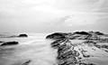 Toucheng beach after typhoon Nepartak